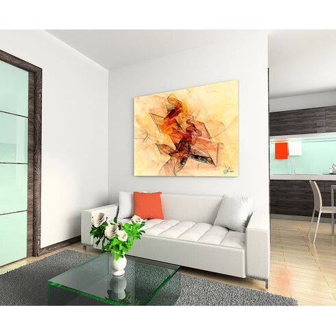Enigma Abstrakt 205 Painting Print on Canvas