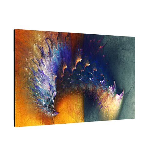 Enigma Abstrakt 304 Painting Print on Canvas
