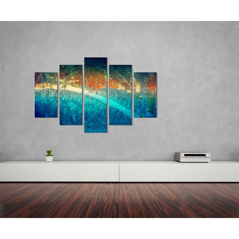 Enigma Abstrakt 965 Painting Print on Canvas Set