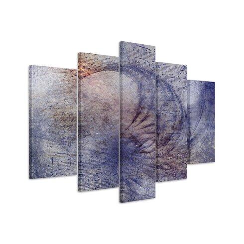 Enigma Skulptur Abstrakt 1027 Painting Print on Canvas Set