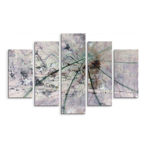 Enigma Abstrakt 1492 Painting Print on Canvas Set