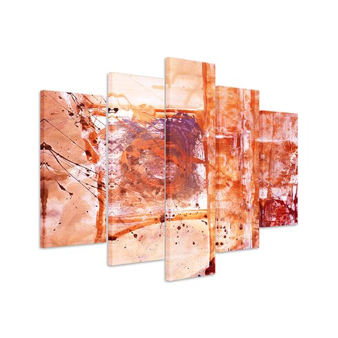 Abstract 657 Enigma 5-Piece Graphic Print