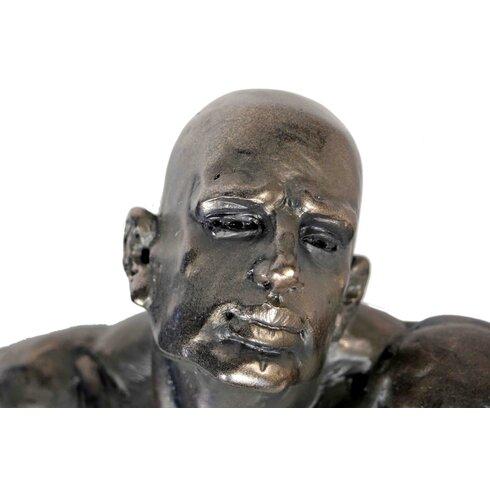Expressive Man Sculpture