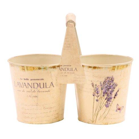 Lavender Round Flower Pot