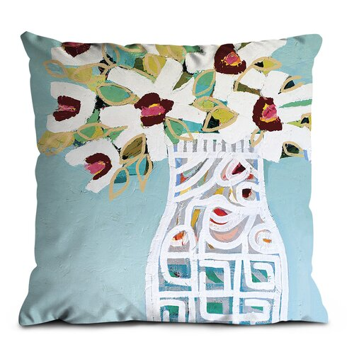 White Pattern Scatter Cushion