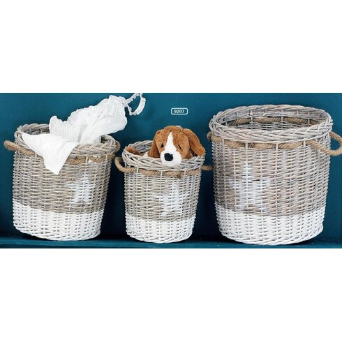 Residence 3 Piece Willow Basket Set