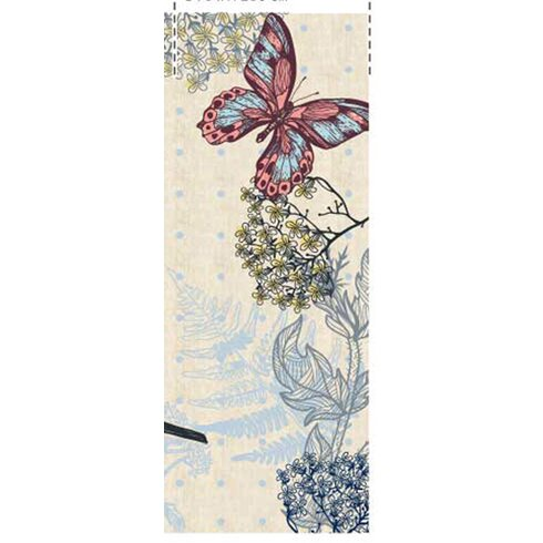 Ambiance 2.5m L x 95cm W Floral and Botanical Tile/Panel Wallpaper