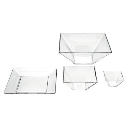 25 cm Schalen-Set quadratisch Modi