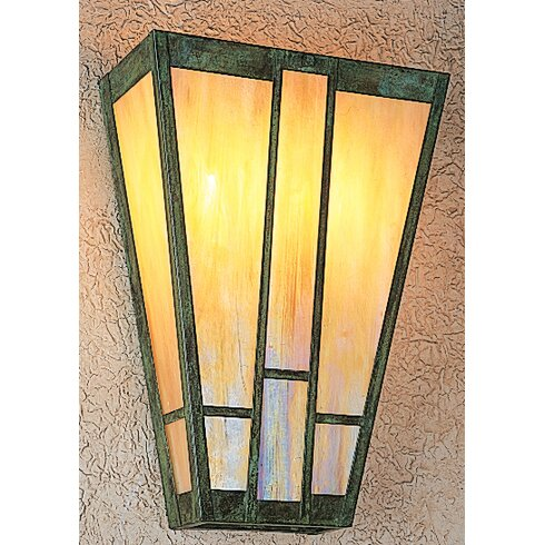 Craftsman Wall Sconce With Switch : Arroyo Craftsman Asheville 2-Light Wall Sconce & Reviews Wayfair