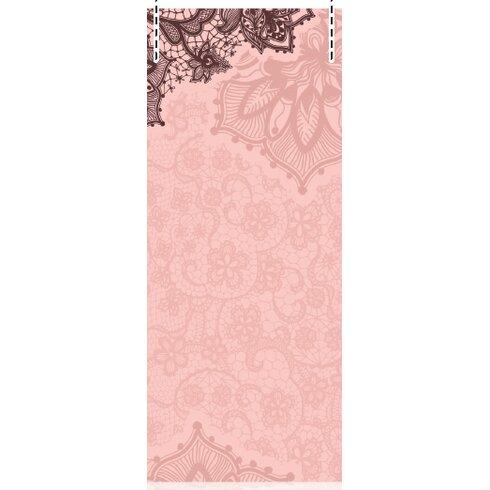 Lace 2.5m L x 95cm W Floral and Botanical Tile/Panel Wallpaper