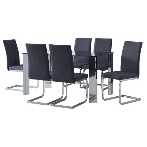 Lyle Dining Set with 6 Chairs