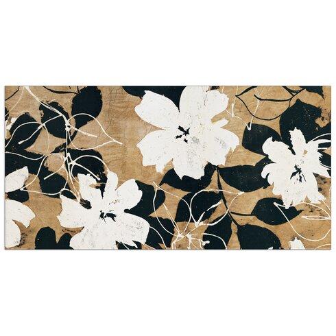 """""""Ensemble De Fleurs"""" by Cailler Art Print Plaque"""