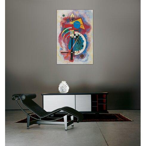 """Omaggio a Grohmann"" by Kandinsky Art Print Plaque"