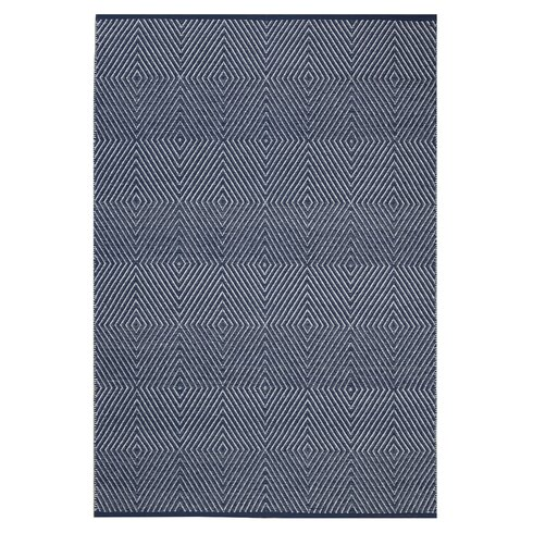 Zen Cotton Blue Rug