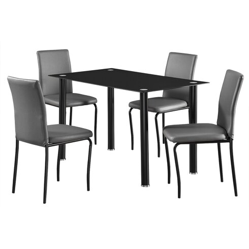 Bentley Dining Set with 4 Chairs