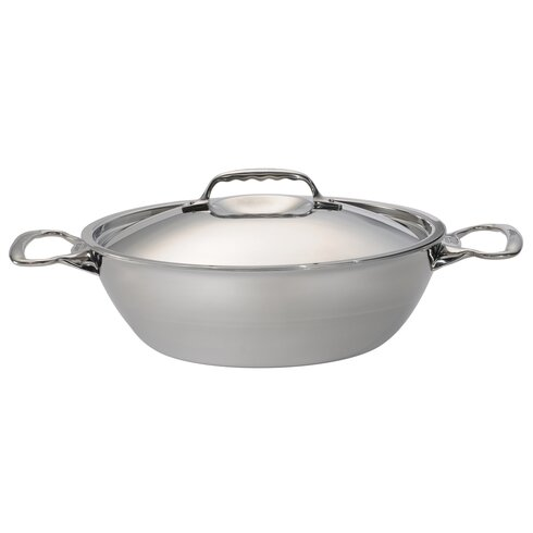 Affinity 4 Piece 5-Ply Stainless Steel Stew Pan Set