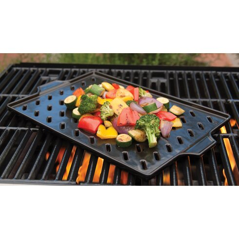 Flame-Friendly™ Ceramic barbecuing Grid