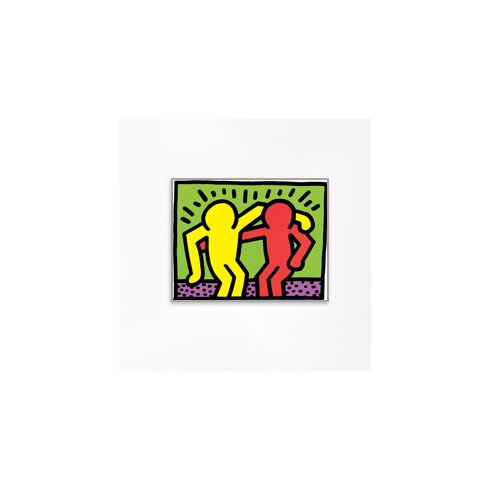 'Pop Shop I' by Haring Graphic Art Plaque
