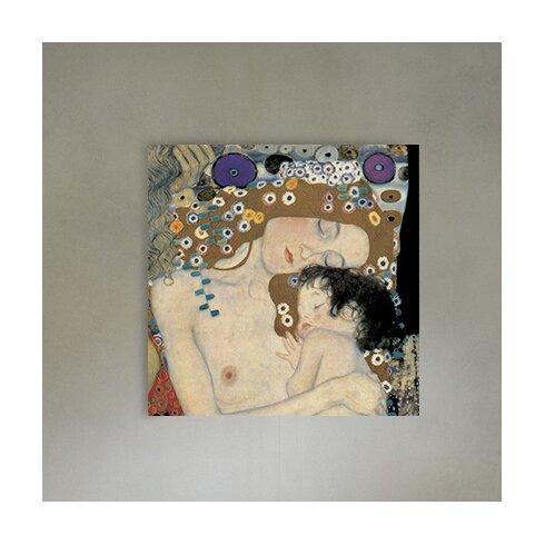 'Le Tre Età Della Donna Detail' by Klimt Art Print Plaque