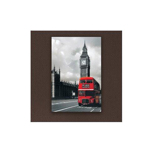 Bus Westminster Graphic Art Plaque