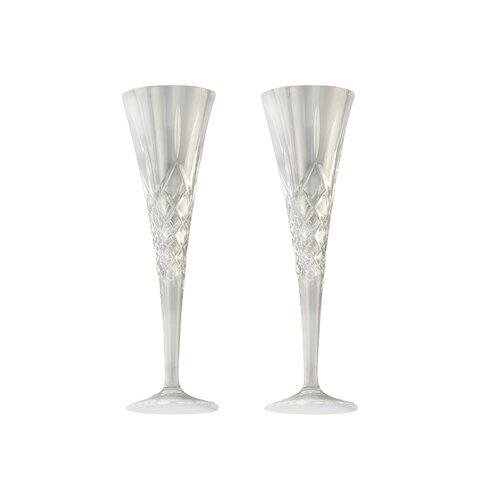 Galway Longford 8cm Stemware Romance Flute Glass