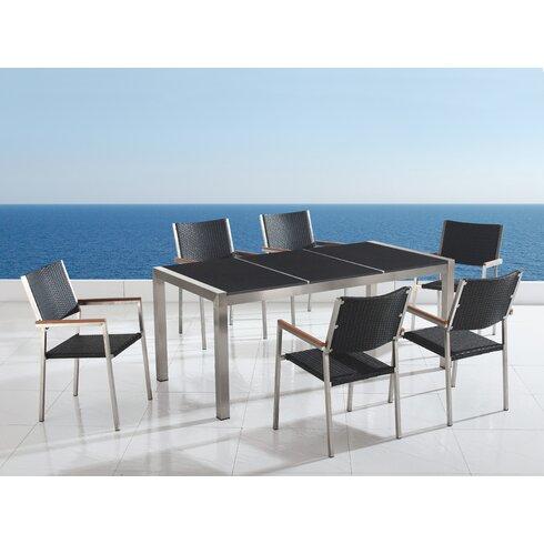 Grainne 6 Seater Dining Set