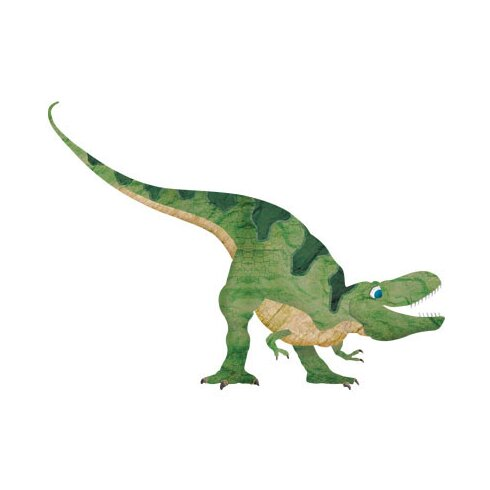 My wonderful walls dinosaur wall mural decal kit for Dinosaur mural kit