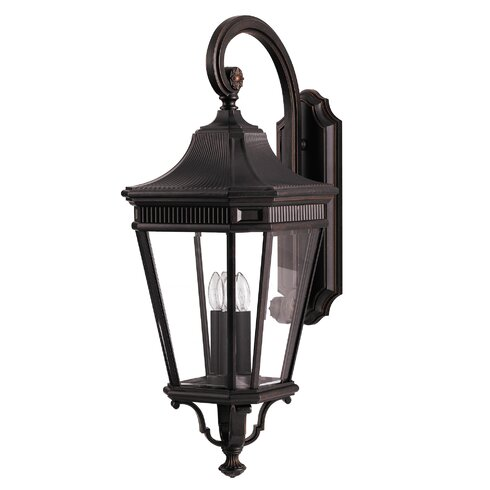 Cotswold 3 Light Outdoor Wall Lantern