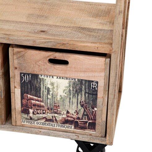 188 cm Bookcase