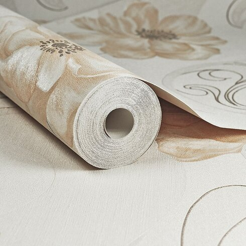 Essence 10m L x 64cm W Floral and Botanical Roll Wallpaper