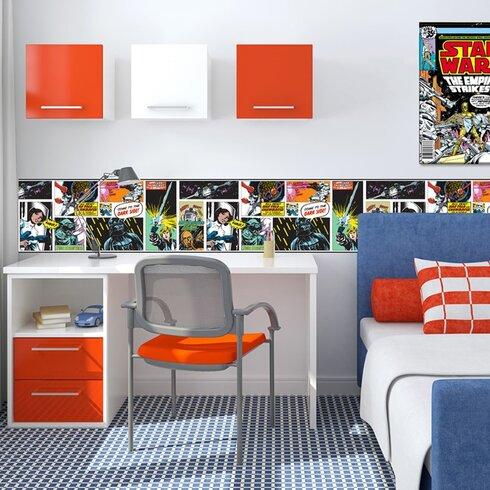 Star Wars 5m L x 24cm W Roll Wallpaper