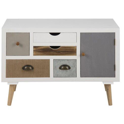 Kourtney 1 Door 5 Drawer Combi Cabinet