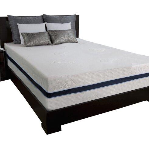 king sealy 14 gel sensogel memory foam mattress - Sealy Memory Foam Mattress
