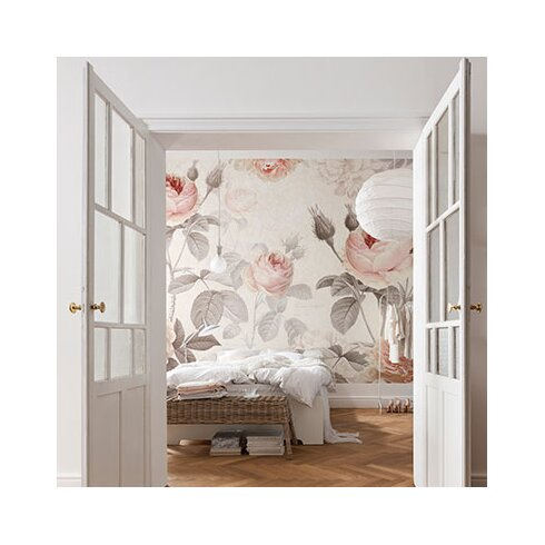 Brewster home fashions komar la maison wall mural for Brewster home fashions komar wall mural