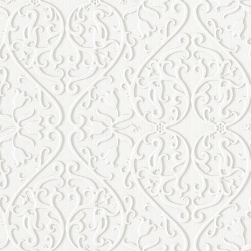 Illusions 10m L x 53cm W Damask Foiled Roll Wallpaper