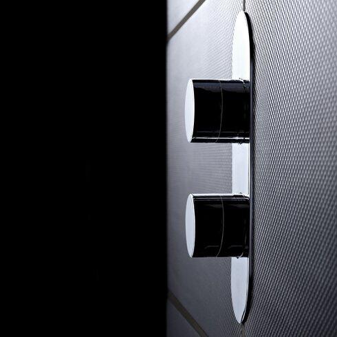 Indus Twin Concealed Shower Valve with Diverter