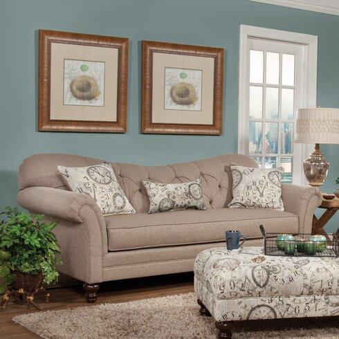 Three Posts Serta Upholstery Wheatfield SofaReviewsWayfair