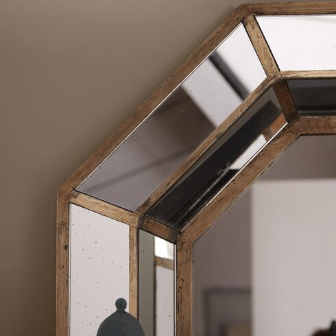 Scipio wall mirror reviews allmodern for 4 x 5 wall mirror