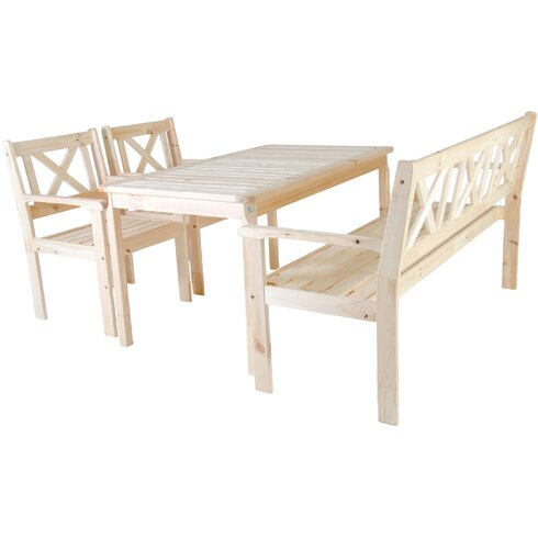 5-Sitzer Gartengarnitur Evje