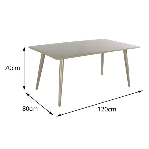 Milos 6 Seater Dining Table