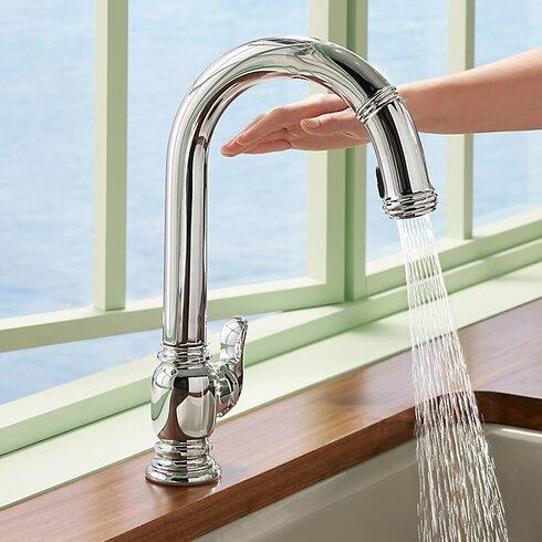 Kohler Beckon Tm Touchless Pull Down Kitchen Sink Faucet