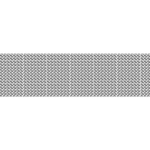 30 cm Lampenschirm Black Sparrow aus Tyvek