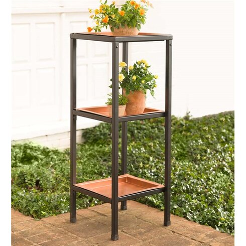 Plow Amp Hearth Multi Tiered Plant Stand Amp Reviews Wayfair