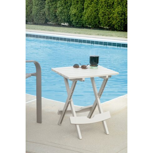 Andover mills quebec side table reviews wayfair for Outdoor furniture quebec
