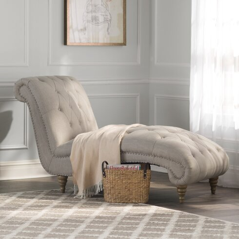 Versailles Living Room Chaise Lounge - Chaise Lounge Chairs You'll Love Wayfair