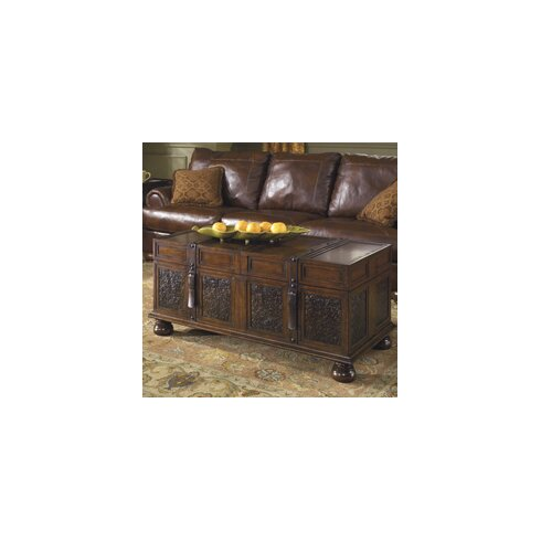 World Menagerie Andalusia Storage Coffee Table TrunkReviews