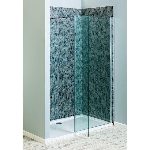 183.5cm x 30cm Hinged Shower Door