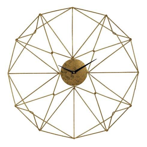 "24"" Angular Wirework Wall Clock"