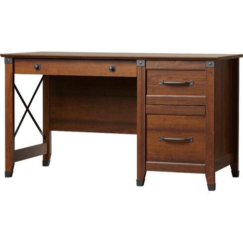 Loon Peak Newdale Computer Desk With 3 Storage Drawers