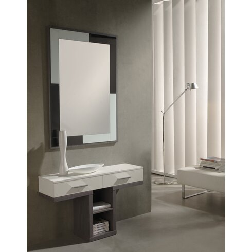 Cleo Console Table and Mirror Set